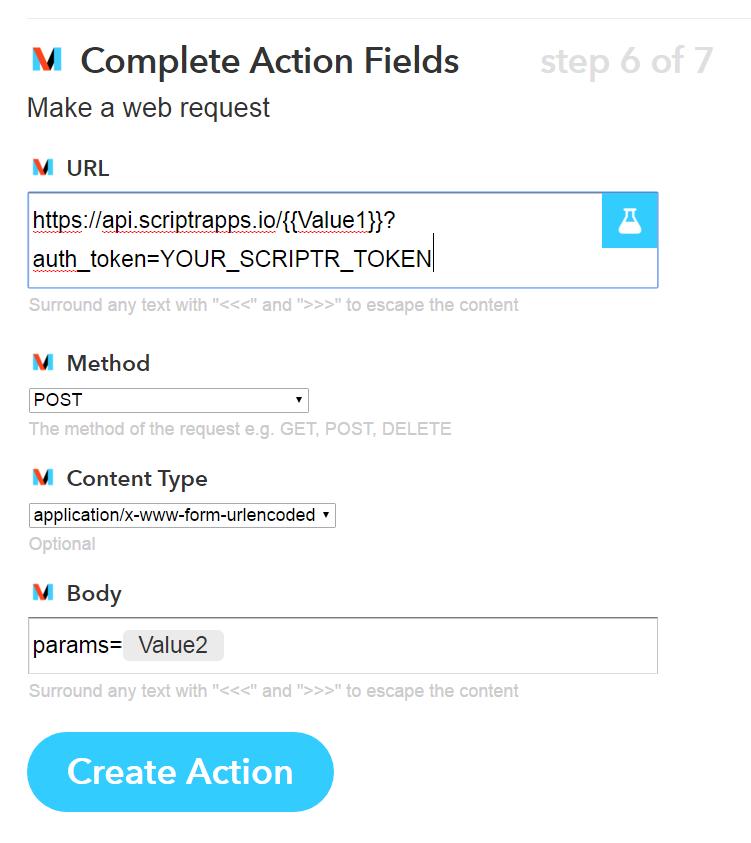 Enhance IFTTT capabilities with scriptr io | IoT Platform