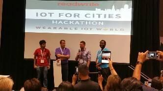 Scriptr-powered app wins runner up at IoT World 2016 Hackathon