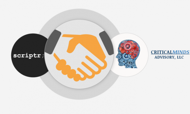 Scriptr.io and Critical Minds Advisory Announce Partnership to Connect IoT Data to Enterprise Applications