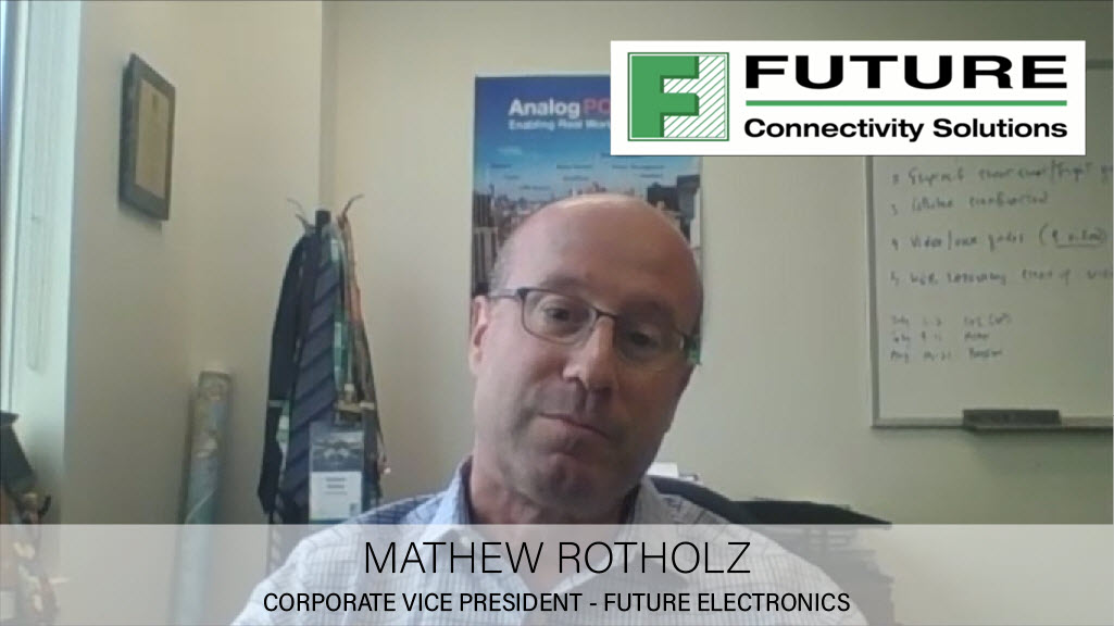 Matthew Rotholz talks about Future Electronics, the IoT market and the relationship with scriptr.io