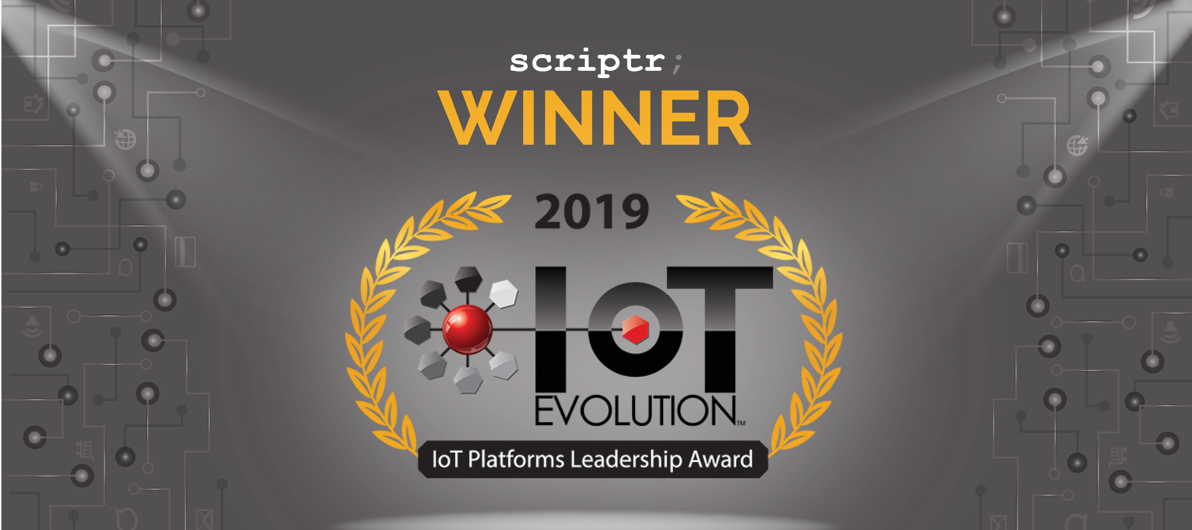 Scriptr.io Receives 2019 IoT Platforms Leadership Award