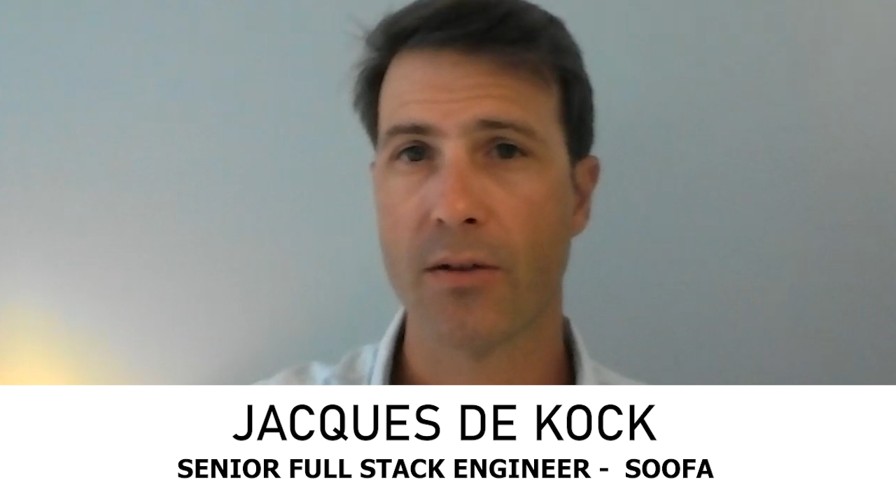 Jacques De Kock talks about Soofa and the relationship with scriptr.io